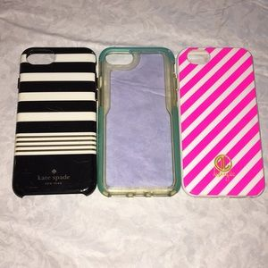 Three iPhone 6/6s/7/8 cases Kate Spade, Dabney Lee